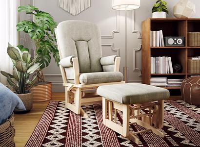Rose glider chair