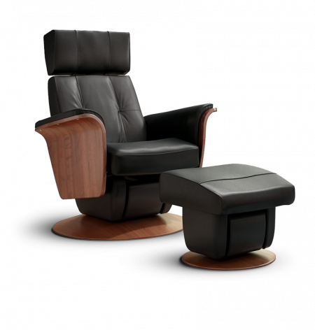 Glider recliners and ottomans